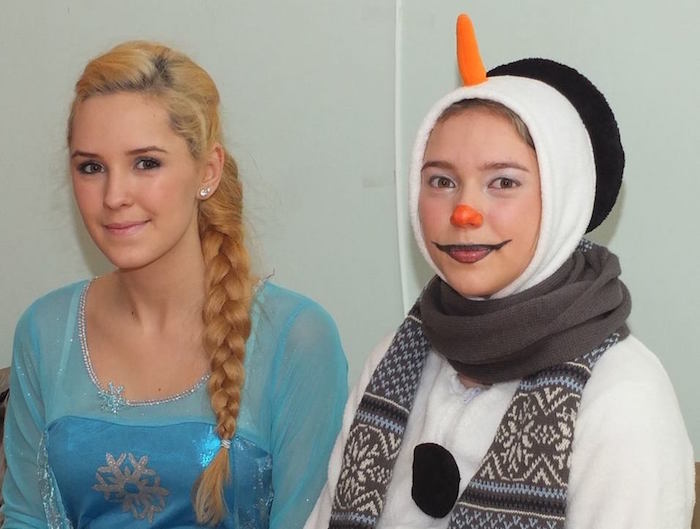 Party with a Princess and a Snowman