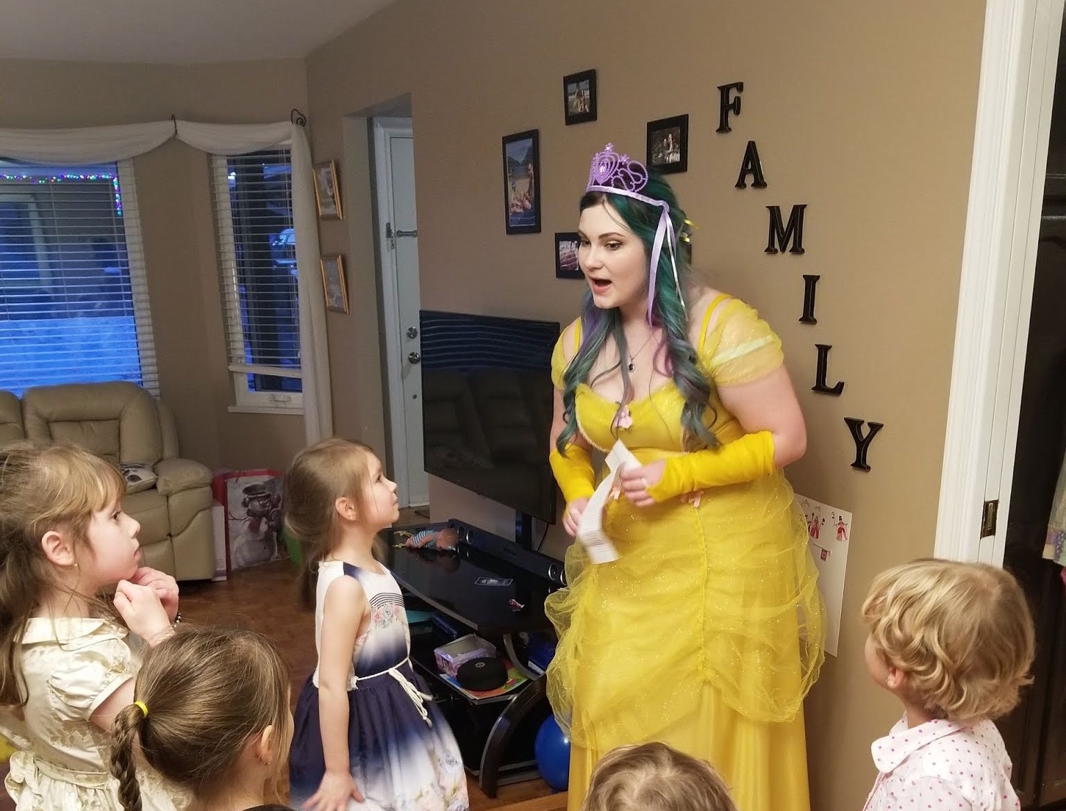 The Fairy of Kindness party